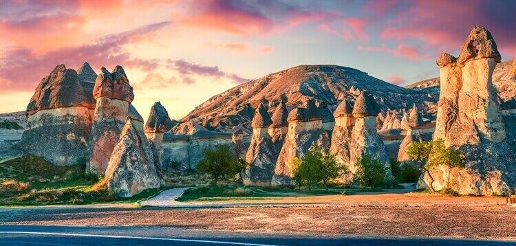 rotsen nevsehir cappadocien
